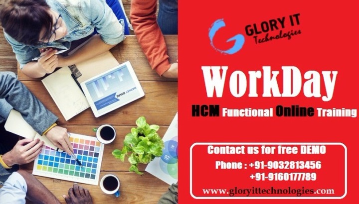 Workday HCM Functional Online Training and Job Support Services